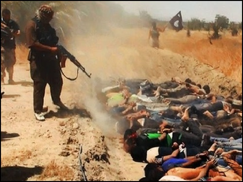 ISIS Mass Execution of 1,500 Iraqis